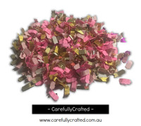 1/2 Cup Flamingo Bling Confetti - Hand Mixed  #CB4
