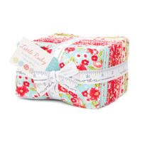 Moda Fabric Precuts Fat Eighth Bundle - Little Ruby by Bonnie and Camille