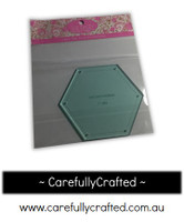 Sue Daley English Paper Piecing - 2 inch Hexagon - Template