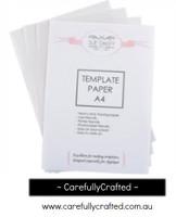 Template Paper A4 x 3 pack - Sue Daley Designs