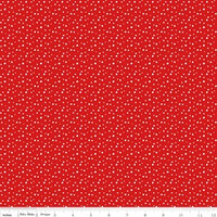 Riley Blake Fabric - Pixie Noel - Tasha Noel - Red #5255