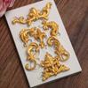 Scroll Decorative  accent Small Silicone Mold