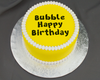 Bubble Happy Birthday Flexabet Letters by Marvelous Molds