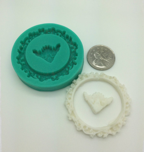 Round Frame Silicone Mold