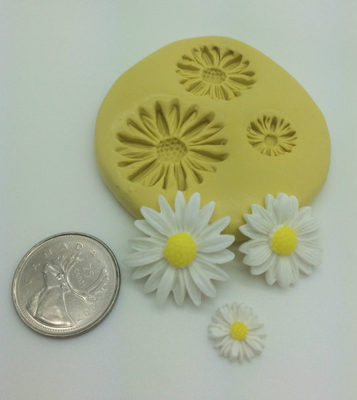 Daisy Flower Silicone Mold Set