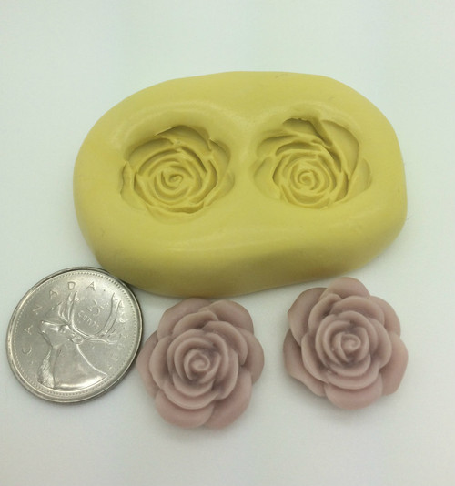 Small Rose Flower Silicone Mold Set
