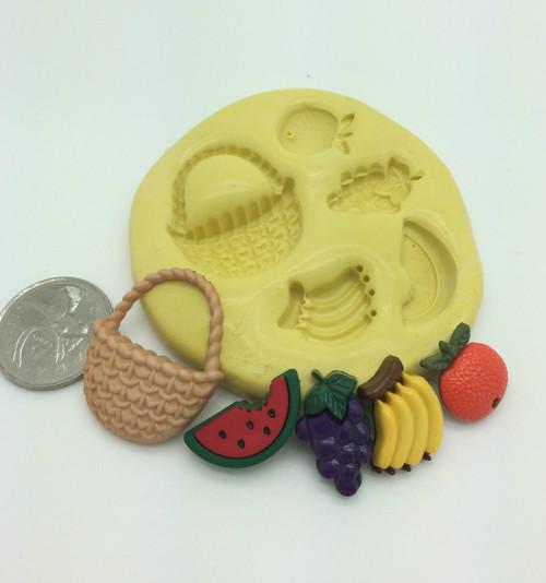 Fruit Basket Silicone Mold Set