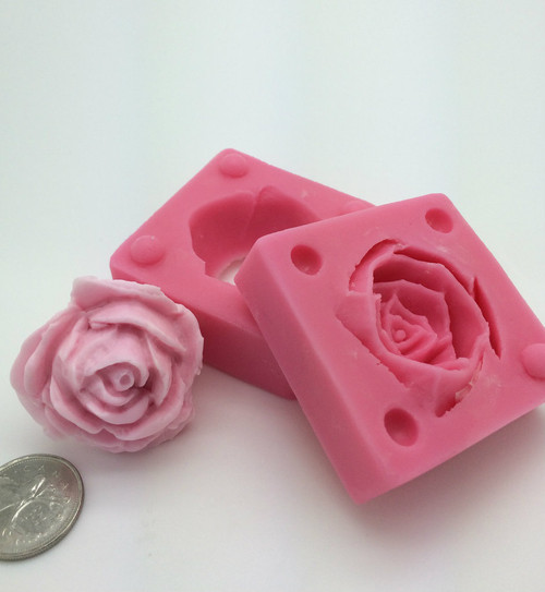 3D Rose Bud  Silicone Mold