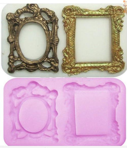 2pc  Fancy Frame Set