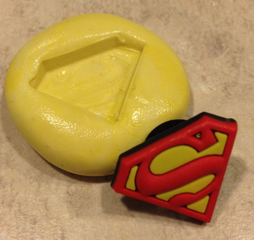 Mini Super Man Mold  Silicone