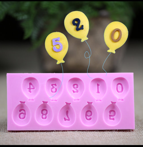 Balloon Number Set 0-9