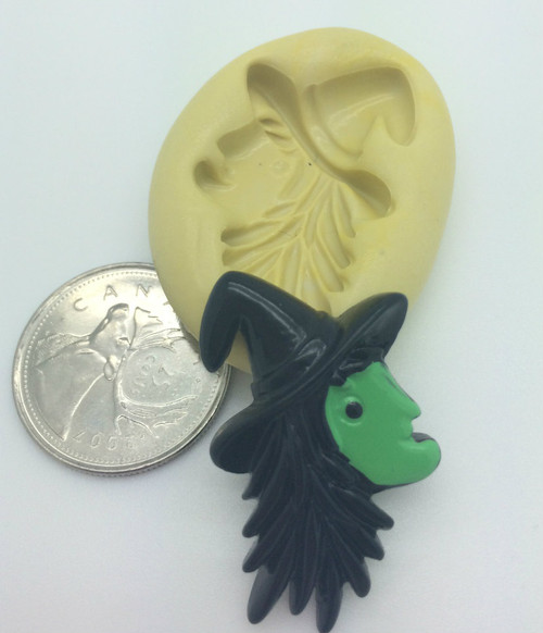 Witch Face Silicone Mold