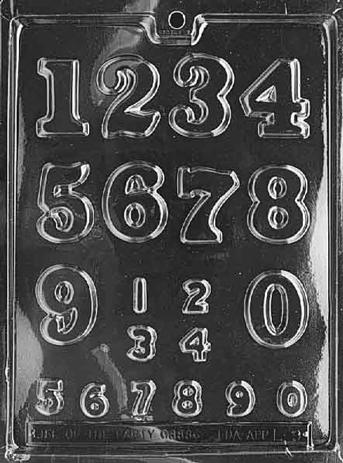 NUMBERS - LARGE, SMALL