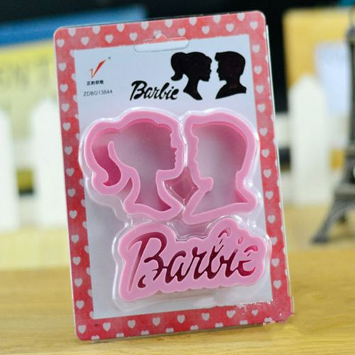 Ken and Barbie Cutter Set