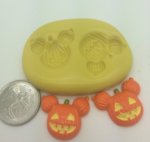 Jack o lantern Pumpkin Mold Set