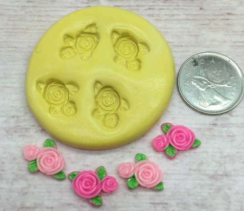 XS Mini Rose Buds  Silicone Mold