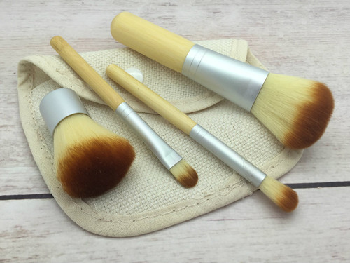 4pc Brush Set with Case