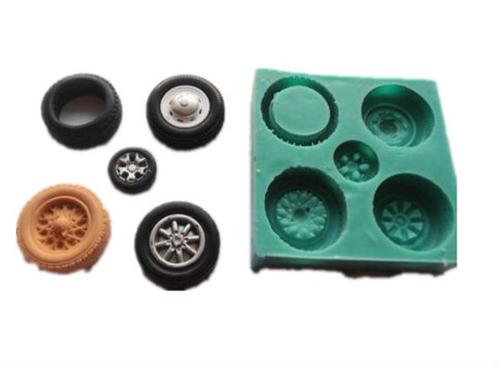 Tire   Silicone Mold Set