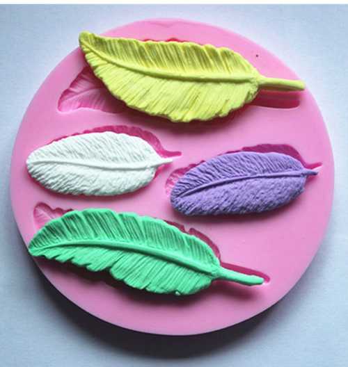 Feather Silicone Mold Set