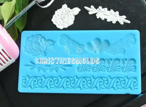 Lace Silicone Mold Set #6
