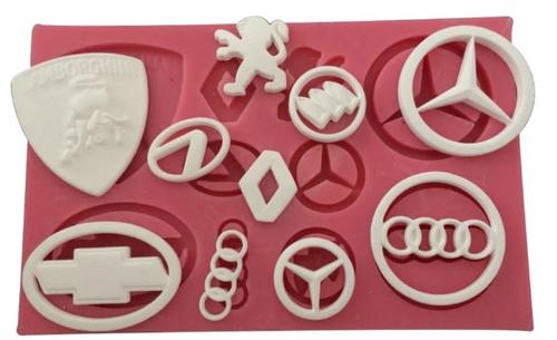 Car Theme Silicone Mold Set