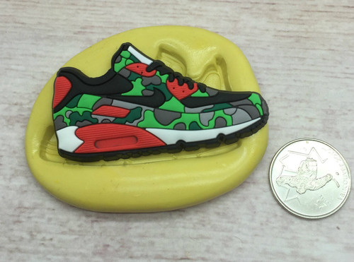 Sneaker Shoe Mold #12 Silicone