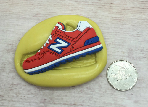 Sneaker Shoe Mold #13 Silicone