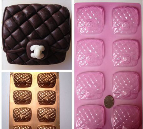 cookie purse handbag mold