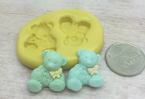 Baby Bear Small Set Silicone mold