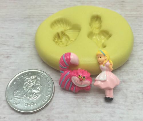 Alice Mini Silicone mold Set