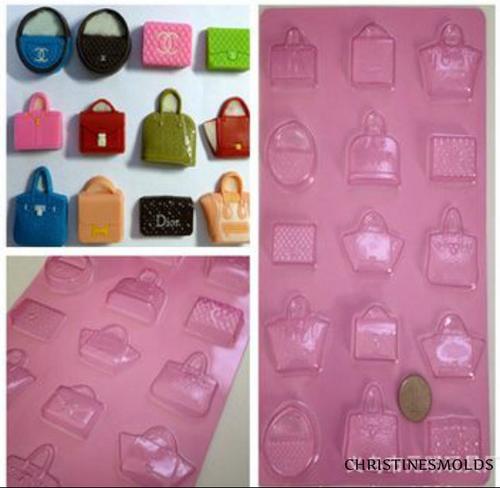 Purse Handbag mold Set