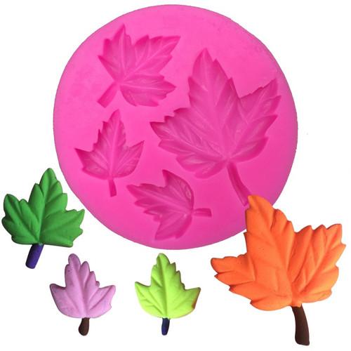 3pc Maple Leaf  Silicone Mold