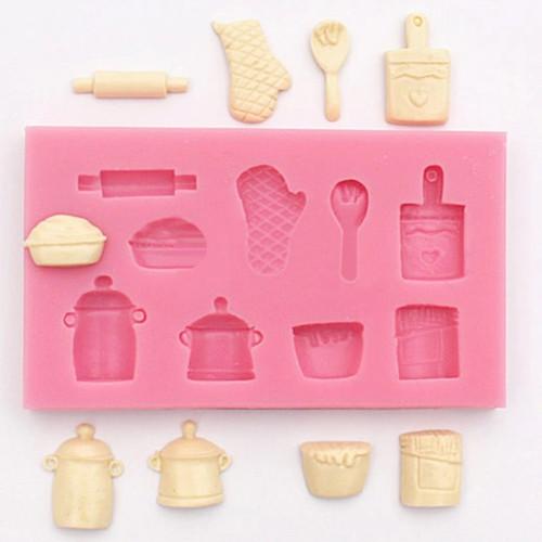 Kitchen Theme Silicone Mold