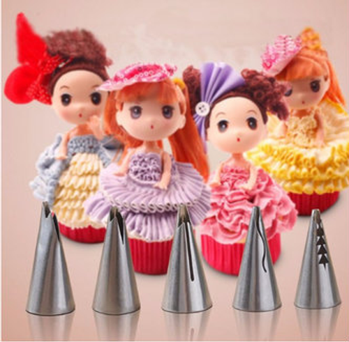 5pc Ruffle Tip Set