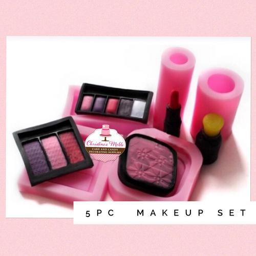 5pc Makeup Mold Set