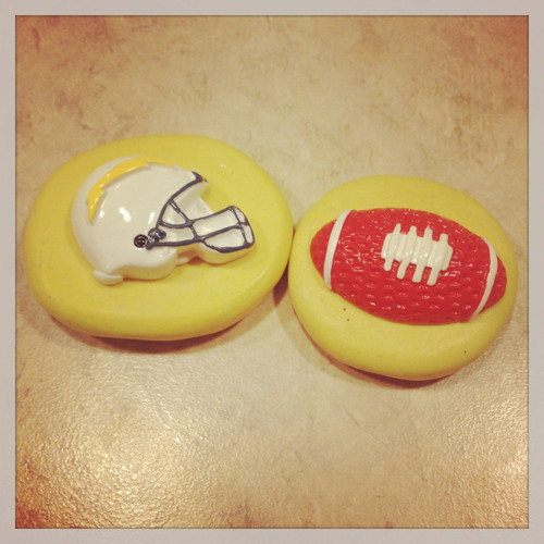 Football helmet and Ball Molds  Silicone