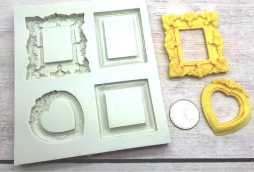 Frame Silicone Mold Set #