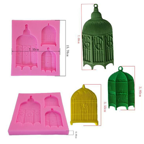 Bird Cadge Mold 3pc