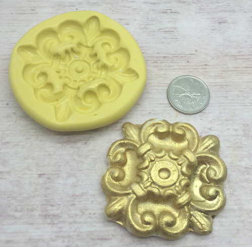 Accent Medium Silicone Mold