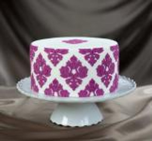 Damask Pattern 01 Silicone Onlay® Marvelous Molds