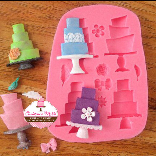 Small Cakes Silicone Mold Set