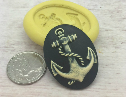 Anchor Cameo Silicone mold