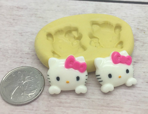Kitty Silicone mold
