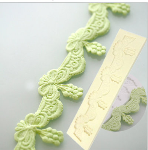 Lace Border  Fancy  Silicone Mold