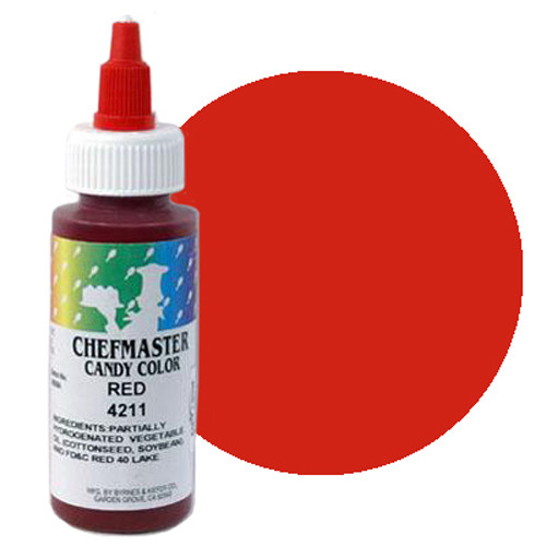 RED CHEFMASTER CHOCOLATE  FOOD COLOURING 2OZ