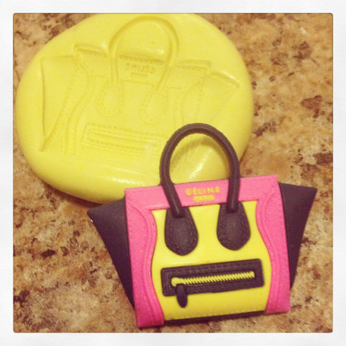 Handbag Purse #10 Mold  Silicone