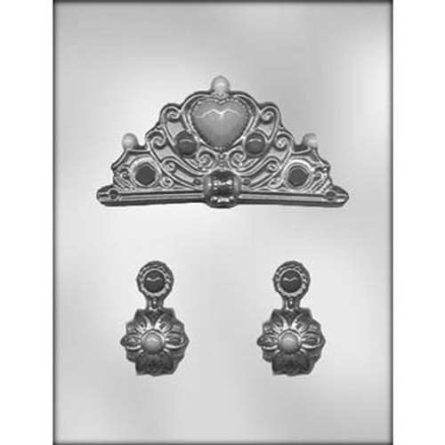 CROWN & EARRINGS CHOCOLATE MOLD