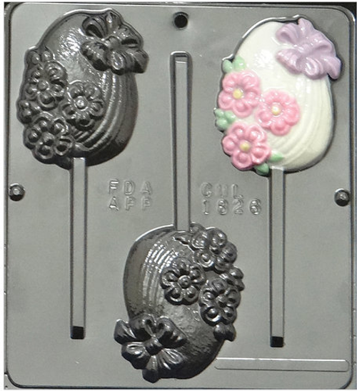 Fancy Egg Lollipop Chocolate  Mold
