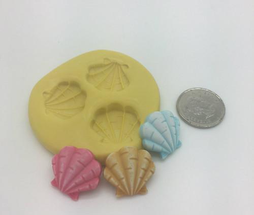 Sea Shell SMALL Silicone Mold Set