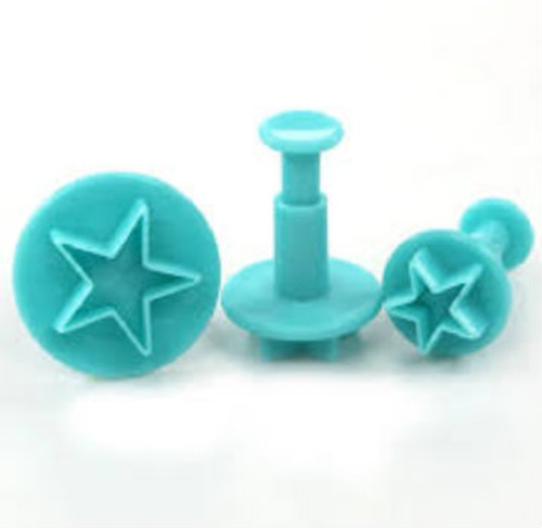 Stars Small  Plunger Set 3pc